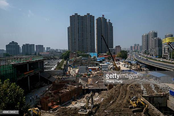 A large construction site in city center Chinese home prices rose in August for the first time this year compared with year ago levels adding to...