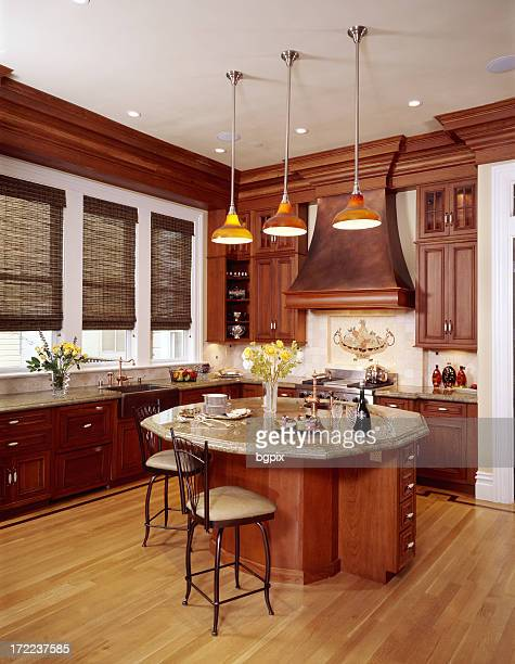 Large Copper Colored Kitchen 2