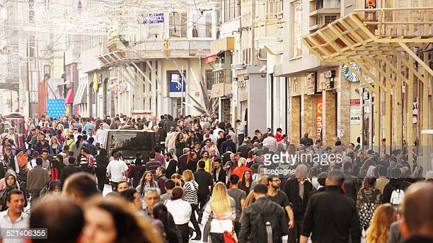 Grande foule à Taksim, Istanbul