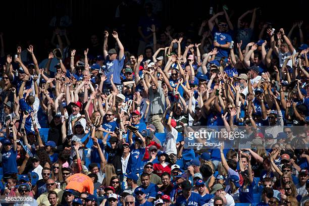 A large crowd was on hand at the Rogers Centre on Sunday The Toronto Blue Jays hosted the Baltimore Orioles in there last game of the year and lost 10