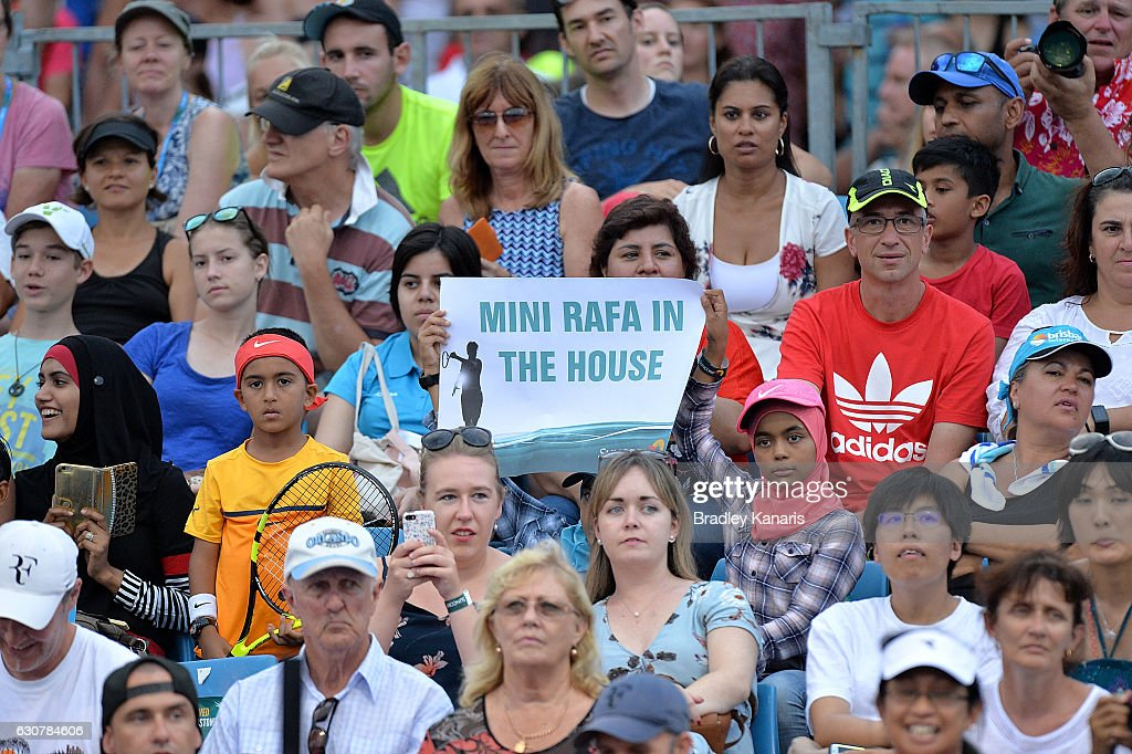 2017 Brisbane International - Day 2 : Photo d'actualité