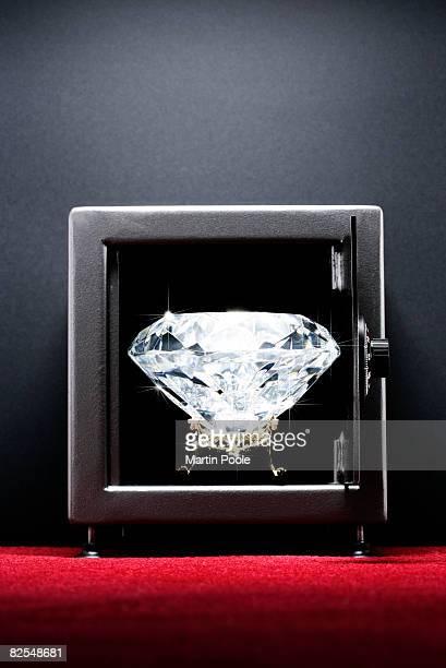 Large Diamond in safe