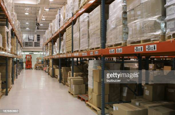 Large Distribution Center Interior