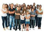 Large Diverse Group