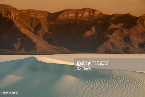 Large Dune and San Andreas Mountains