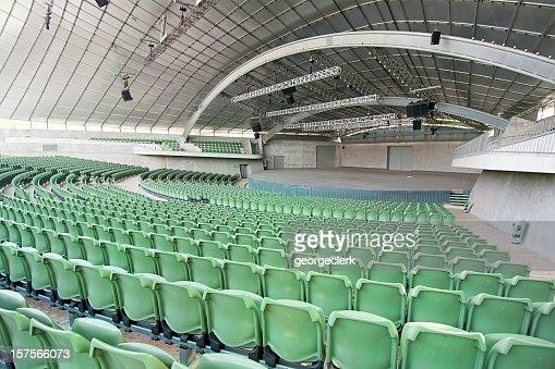 Large Empty Auditorium