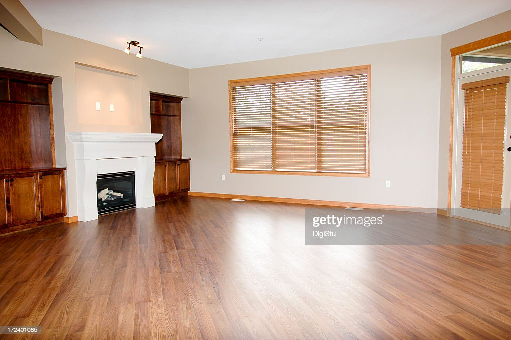 Large Empty Room With Fireplace And Wood Flooring Part 98