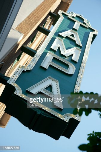 Large exterior Tampa sign
