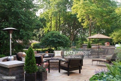Large Garden Patio