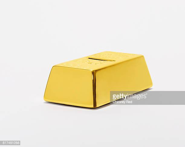 Large gold bullion money box