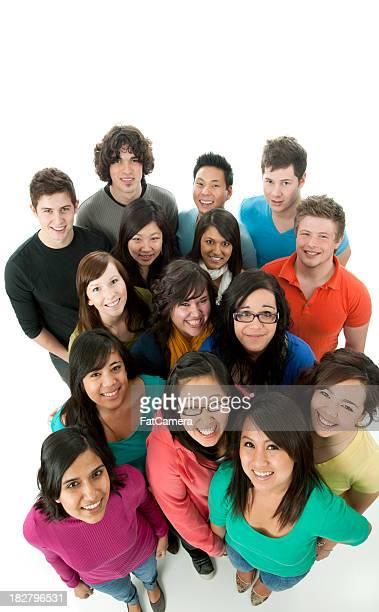 グループの学生