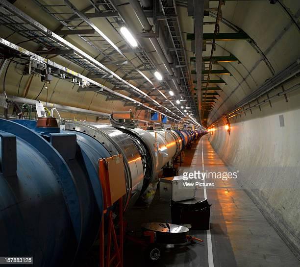 Large Hadron Collider Geneva Switzerland Architect Architect Unknown Large Hadron Collider Tunnel