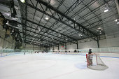 Large Hockey Arena