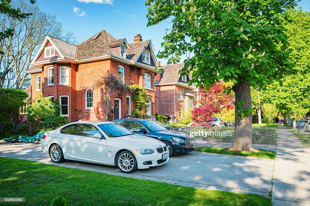 Large Homes in Dundas Hamilton Ontario Canada : Stock Photo