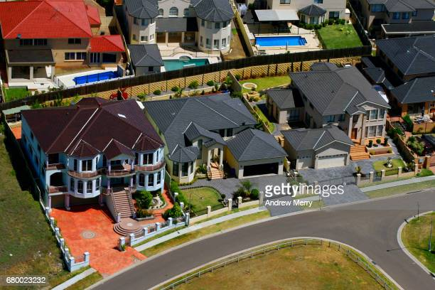 Large Houses, Cecil Hills, Western Sydney, Aerial Photography