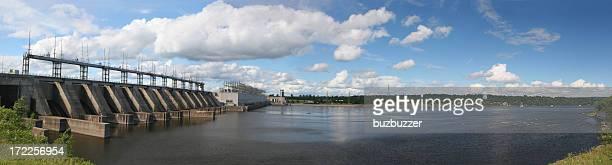 Large Hydro Electric Dam