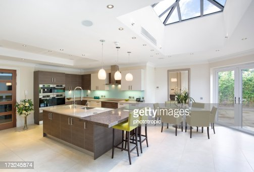large kitchen and diner