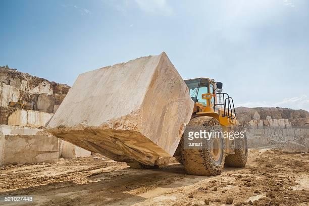 Große Marmor-Steinbruch