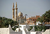 A mosque in the ancient berber oasis of Ghadames, in Libya