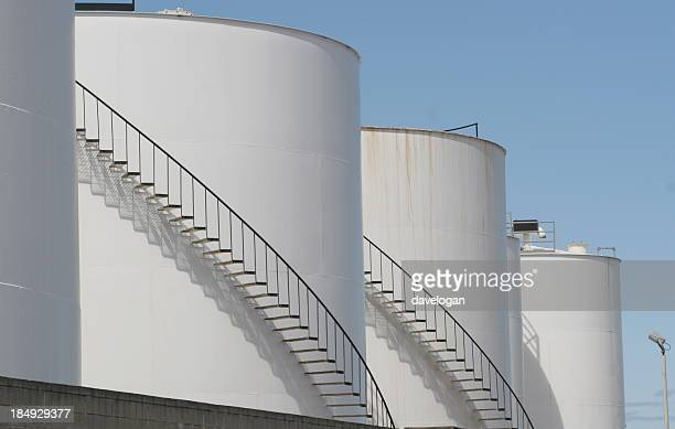 Large Oil Storage Tanks