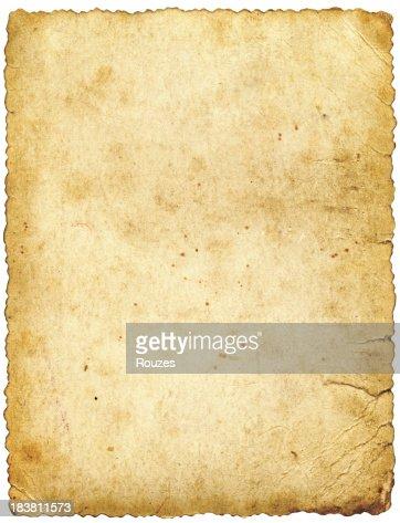 た古い紙製絶縁型