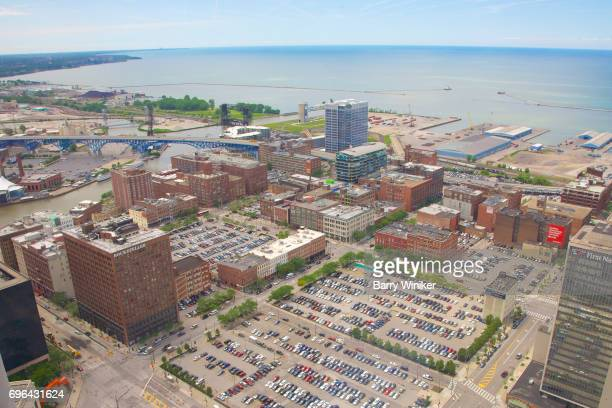 Large parking lots ripe for development in downtown Cleveland