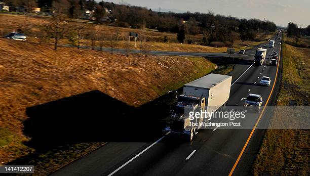 A large percentage of the traffic on I81 is truck traffic It's considered by both passenger car drivers and truckers to be a somewhat dangerous...