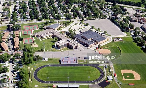 Large Public High School Complex