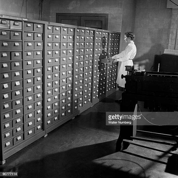 Large storage facilities were needed for the prolific use of cards demanded by early computers English Electric pioneered and marketed some early...