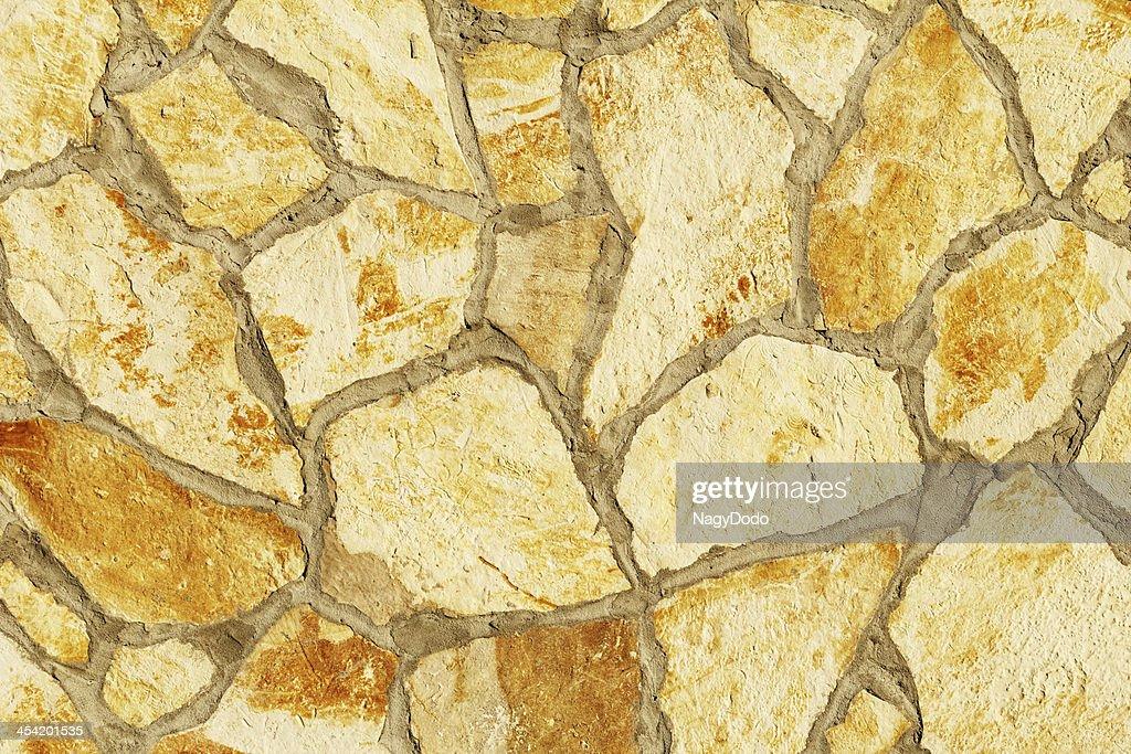 Grande textura de Parede de Pedra : Foto de stock