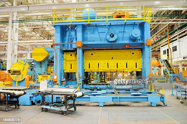 Large Tonnage Metal Press Shop Industry in American Manufacturing Factory