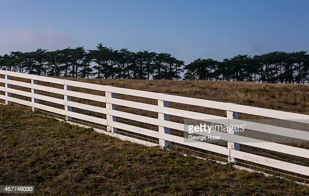 Large tracts of cattle ranches featuring white fences still dot the Mendocino Coast on September 4 near Gualala California Using his authority under...