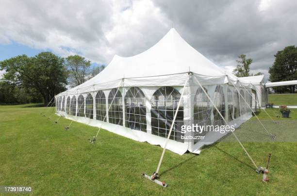 Large White Celebration Tent