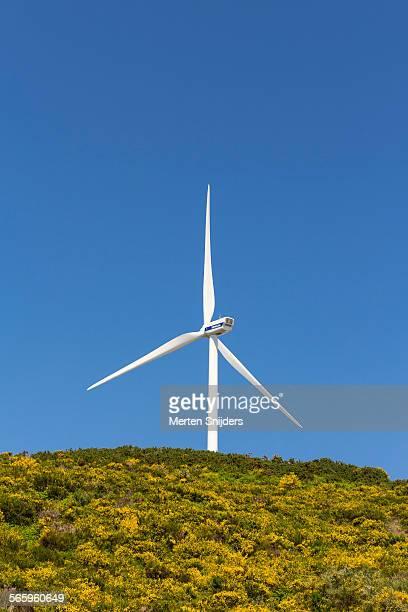 Large wind turbine at Paul da Serra