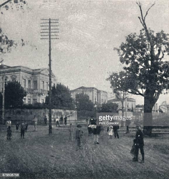 Largo da Republica' 1895 Casas Particulares em S Paulo From Sao Paulo by Gustavo Koenigswald [S Paulo 1895] Artist Oscar Ernheim