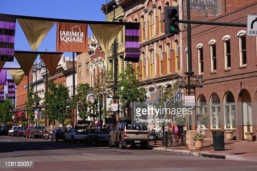 Larimer Square, Denver, Colorado : Stock Photo