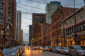 Larimer street is a tourism highlight and worth a visit during the night time. the street lights are beautiful and some restaurants are around.
