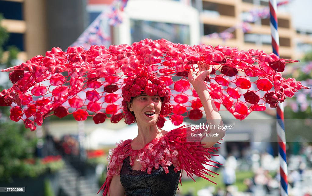 Larisa Katz attends Ladies Day on day 3 of Royal Ascot at Ascot Racecourse on June 18, 2015 in Ascot, England.