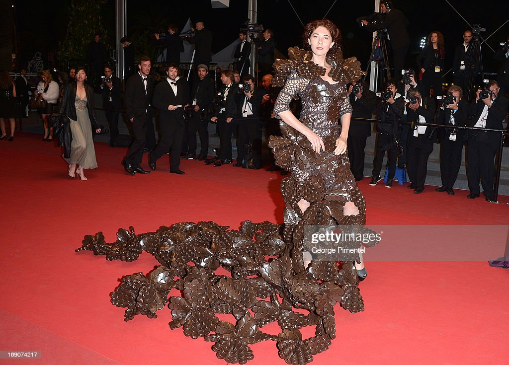 Larisa Katz attends the Premiere of 'Borgman' at The 66th Annual Cannes Film Festival on May 19, 2013 in Cannes, France.