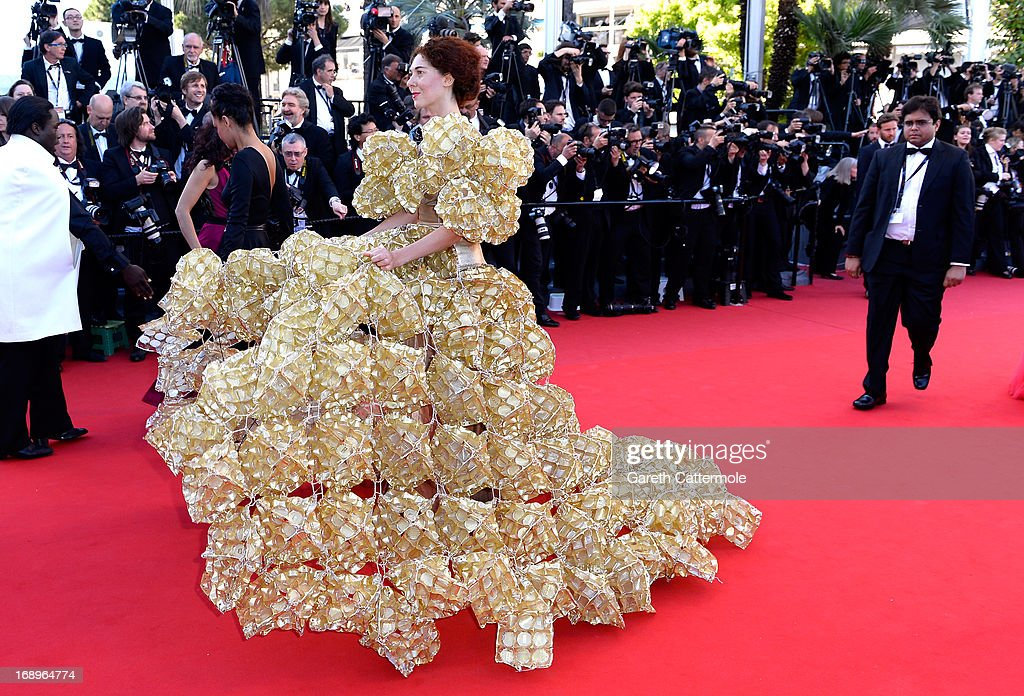 Larisa Katz attends the Premiere of 'Le Passe' (The Past) during The 66th Annual Cannes Film Festival at Palais des Festivals on May 17, 2013 in Cannes, France.