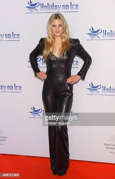 Larissa Marolt attends Holiday on Ice 'Passion' Gala at Hotel Atlantic on October 30 2014 in Hamburg Germany