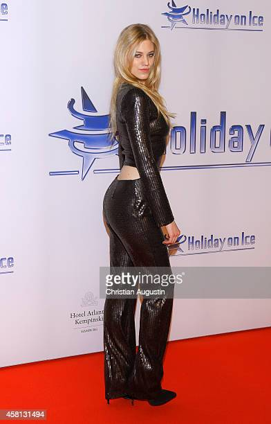 Larissa Marolt attends Holiday on Ice 'Passion' Gala at Hotel Atlantic on October 30 2014 in Hamburg Germany