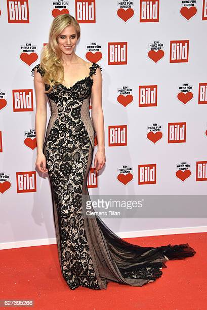 Larissa Marolt attends the Ein Herz Fuer Kinder Gala 2016 on December 3 2016 in Berlin Germany