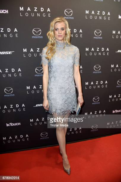 Larissa Marolt attends the spring cocktail hosted by Mazda and InTouch magazine at Mazda Lounge on May 3 2017 in Berlin Germany