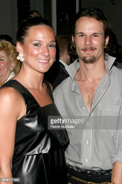 Larissa Whitney and Max Whitney attend The YOUNG PATRONS CIRCLE of AMERICAN FRIENDS Hosts SOIREE AU LOUVRE at Payne Whitney Mansion on June 3 2010