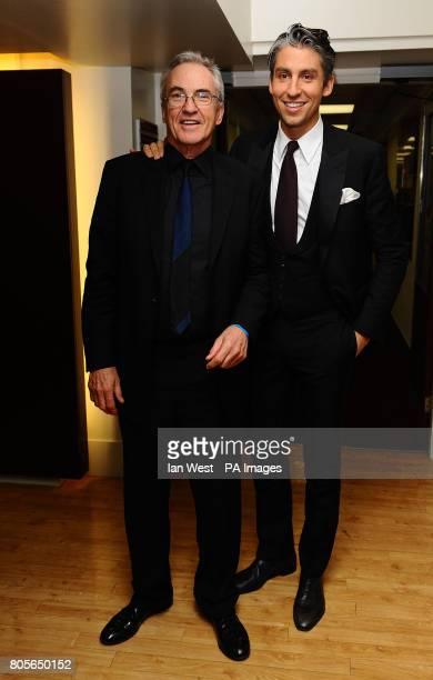 Larry and George Lamb at the British Comedy Awards 2009 at London Television Studios