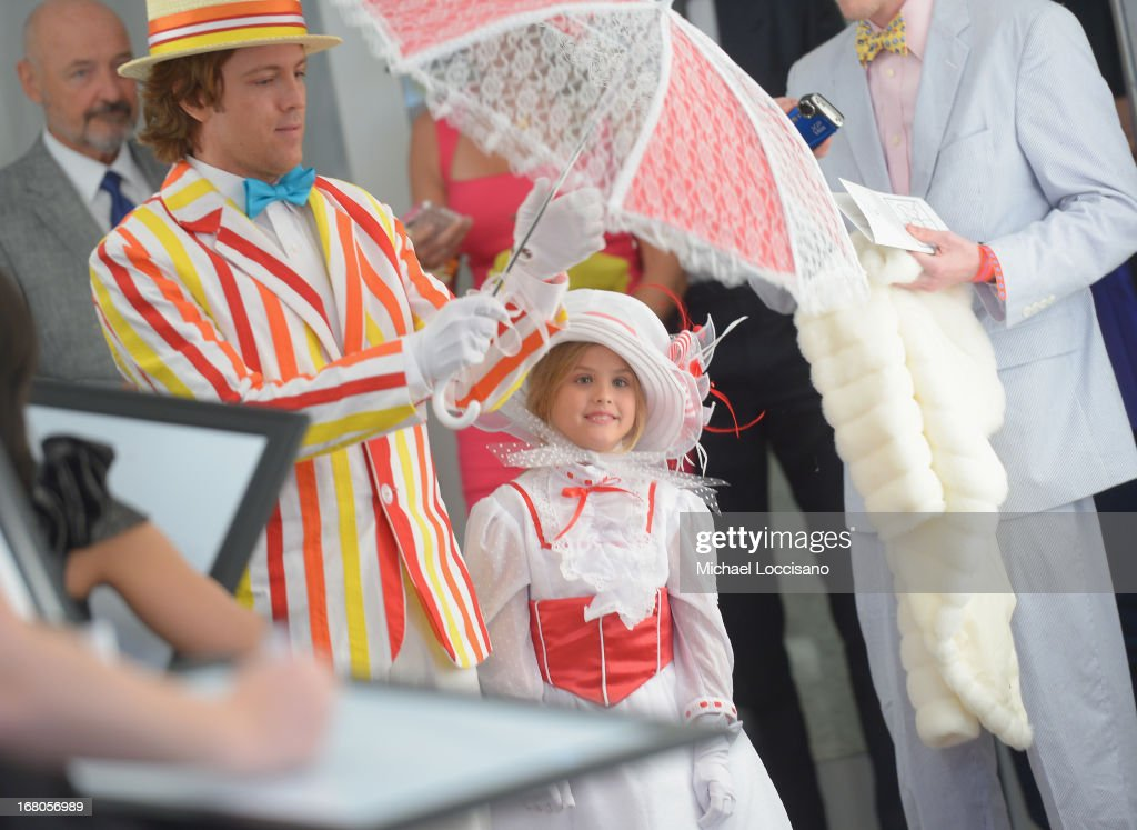 Larry Birkhead and daughter Dannielynn Birkhead attend the 139th Kentucky Derby at Churchill Downs on May 4, 2013 in Louisville, Kentucky.