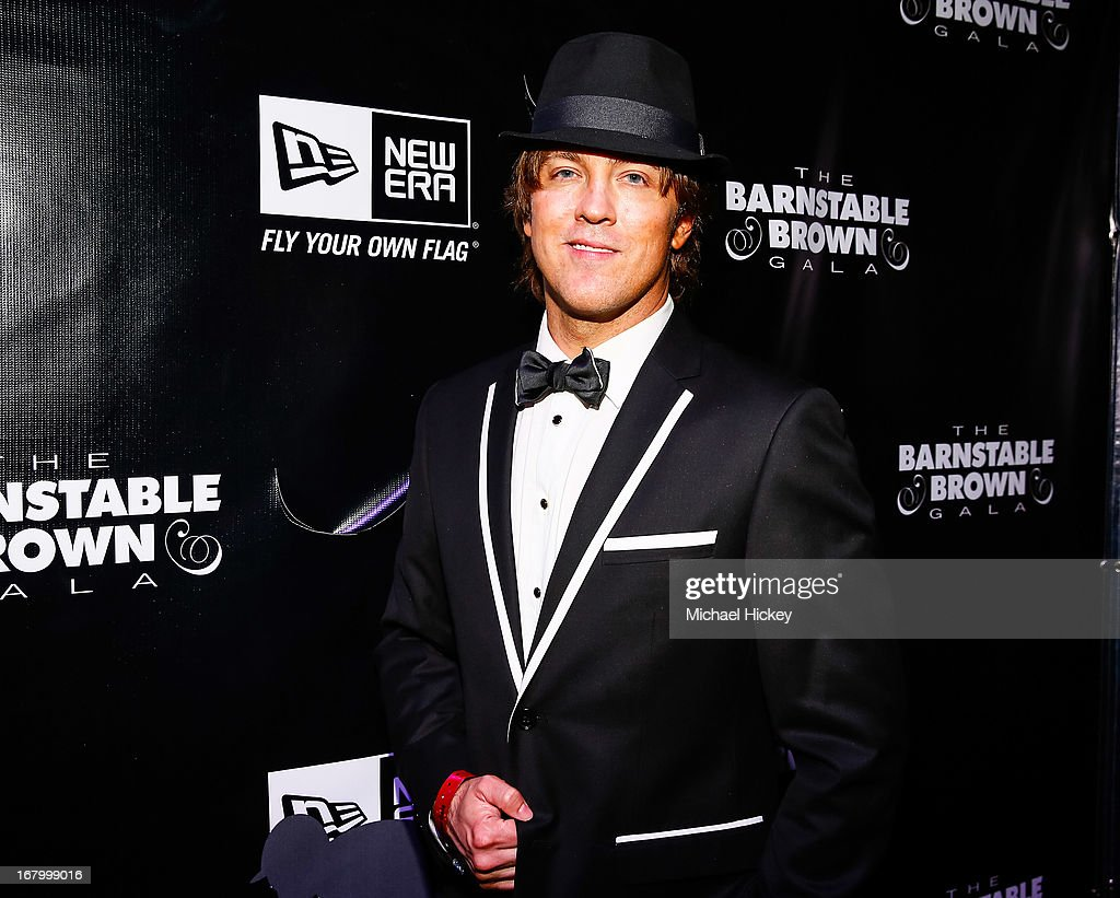 <a gi-track='captionPersonalityLinkClicked' href=/galleries/search?phrase=Larry+Birkhead&family=editorial&specificpeople=4145280 ng-click='$event.stopPropagation()'>Larry Birkhead</a> seen at the New Era Cap tent at The Barnstable Brown Gala on May 3, 2013 in Louisville, Kentucky.