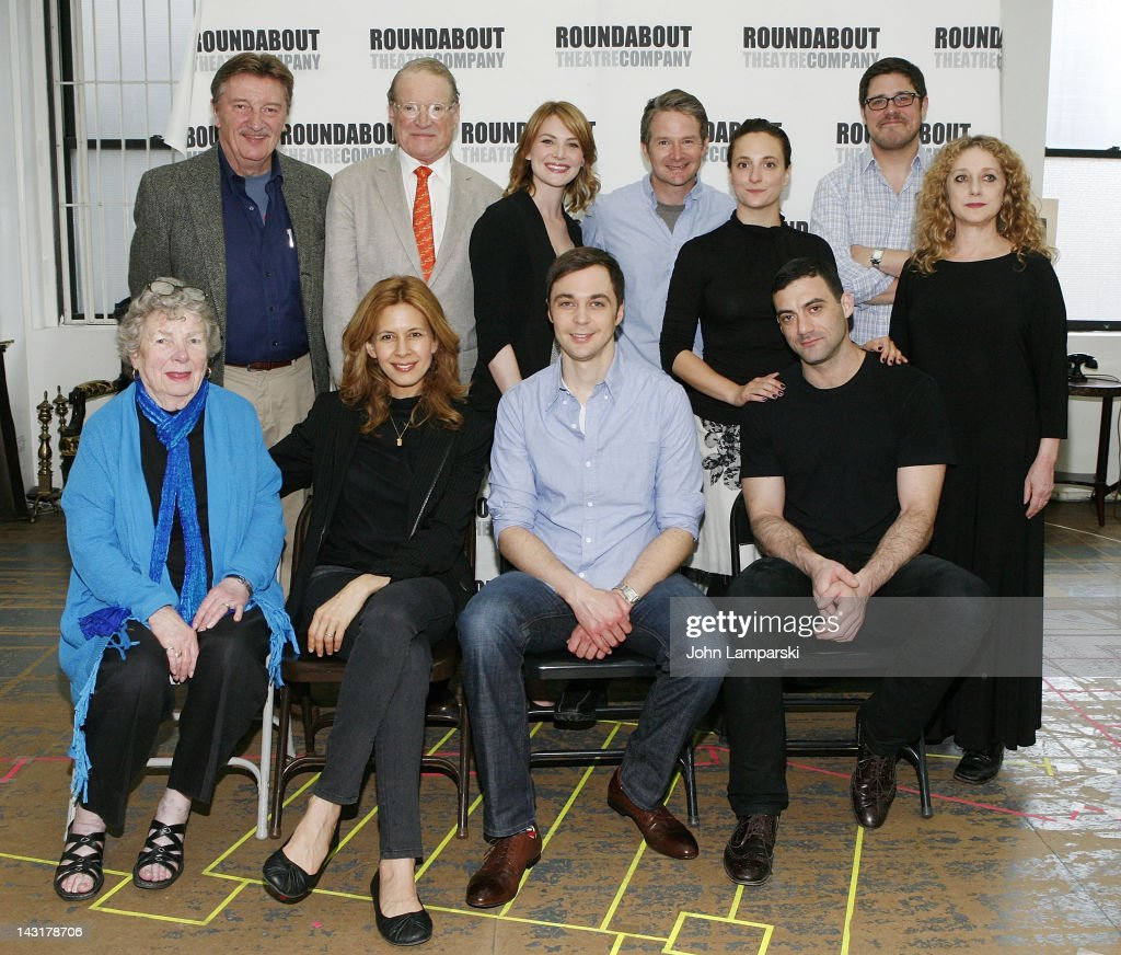 Larry Bryggman Charles Kimbrough Holly Fain Peter Benson Tracee Chimo Rich Sommer Carol Kane Angela Paton Jessica Hecht Jim Parsons and Morgan...