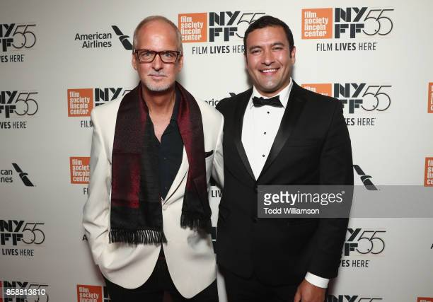 Larry Cech and Raul Torres attends NYFF55 Centerpiece Presentation and New York Premiere of 'Wonderstruck' at Alice Tully Hall on October 7 2017 in...